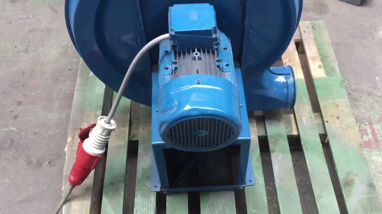 Recycling Plastic Blower : Recycling blower running youtube