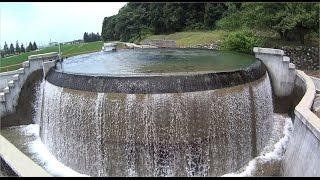 東山円筒分水槽(富山県魚津市)