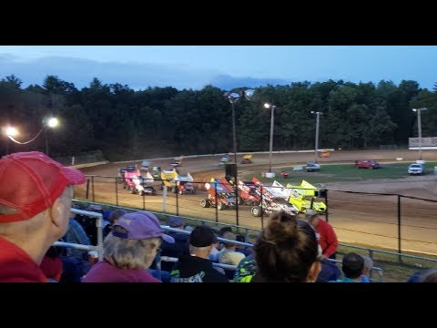 2019 CRSA Sprint Cars, Modifieds, etc at Albany-Saratoga Speedway (Full Event) - August 9th, 2019