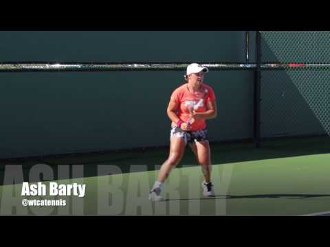 ash  barty best ground stroke technique