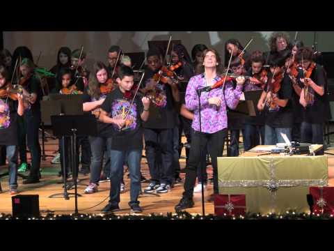 Mark Woods in concert with Western Branch & Jolliff Middle School Orchestra-Eleanor Rigby 12/9/2015