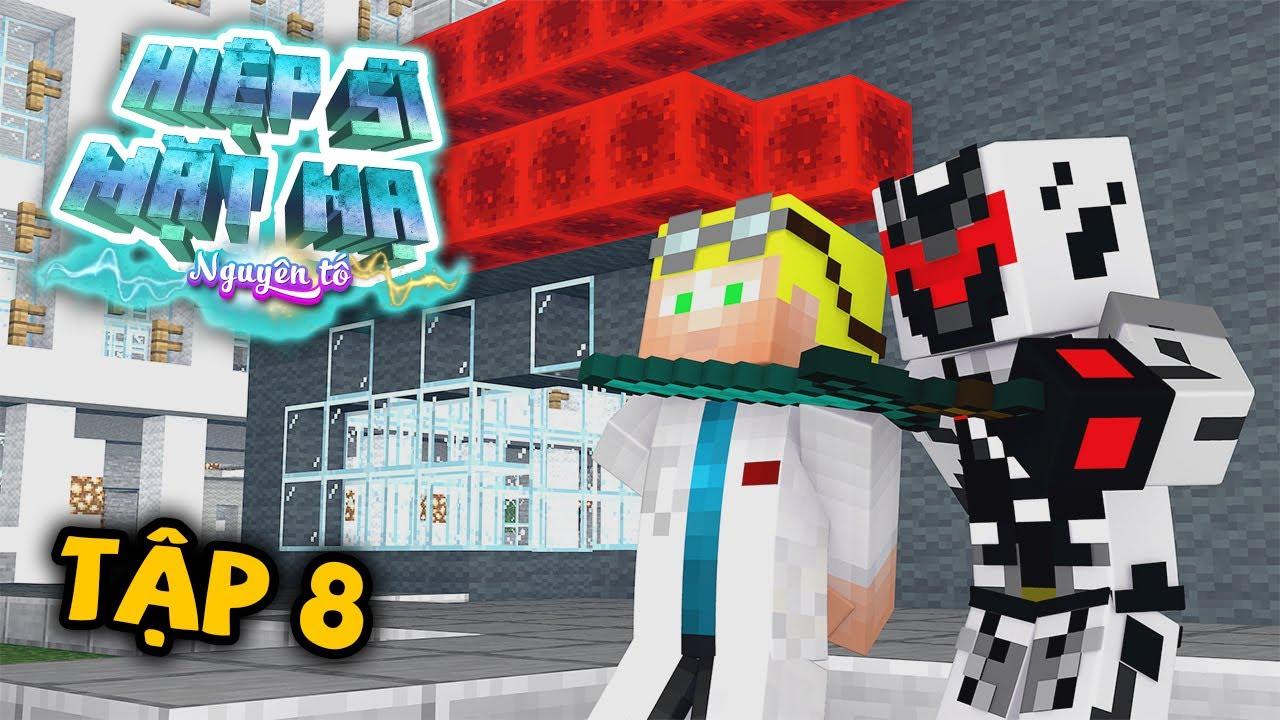 Tập 8 : Tiến Sĩ Jack Bị Bắt Cóc ( Minecraft Hiệp Sĩ Mặt Nạ Nguyên Tố )