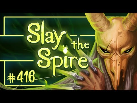 Let's Play Slay the Spire: Silent Ascension Level 19 - Episode 416