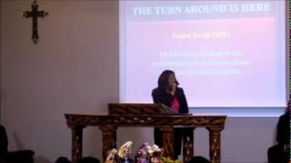"Pastor Caron Jones Preaching ""The Turnaround Is Here"" ‪#‎RITW‬#IMPACTINGLIVES"
