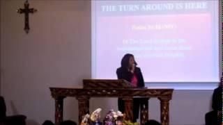 "Pastor Caron Jones Preaching ""The Turnaround Is Here"" #RITW#IMPACTINGLIVES"