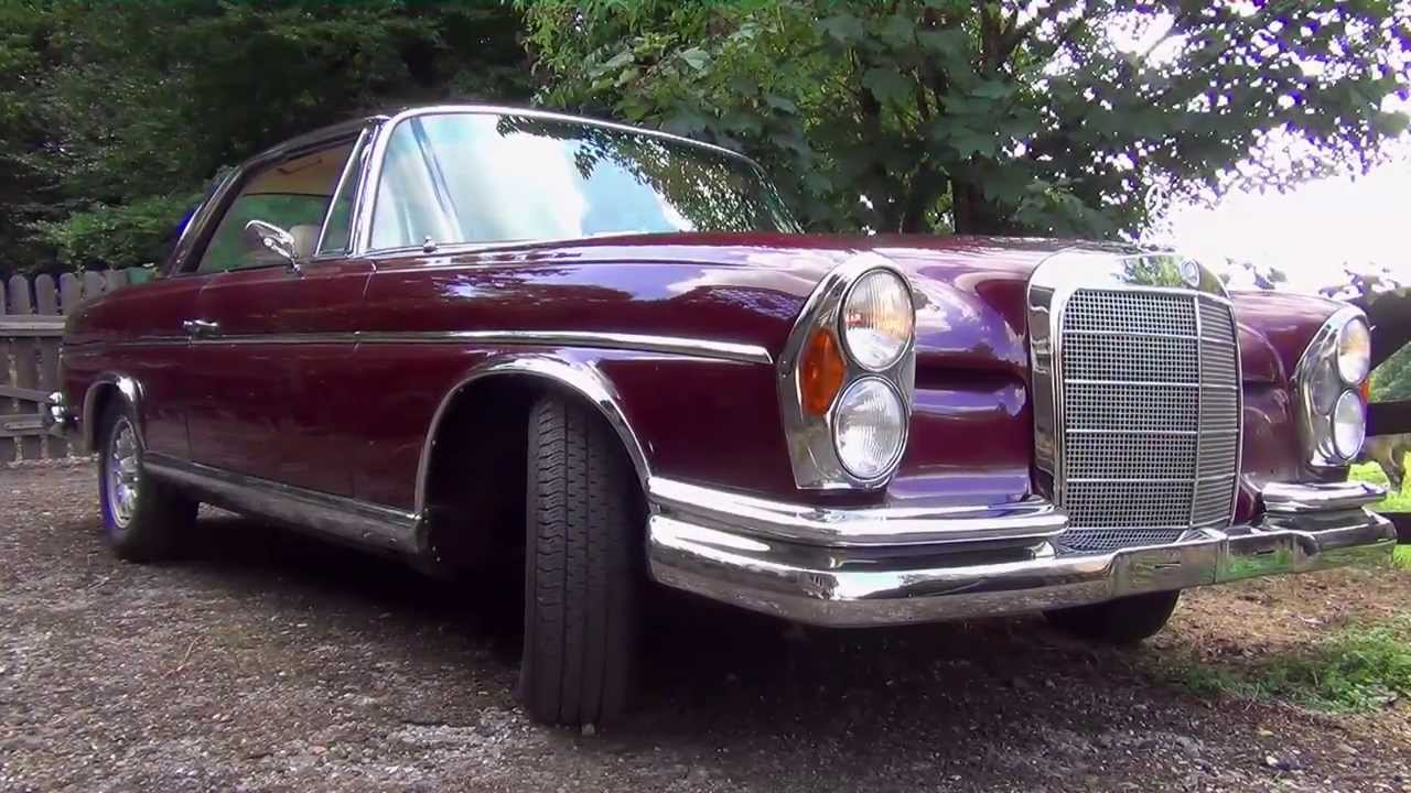 mercedes benz w111 250 se coupe 1966 youtube. Black Bedroom Furniture Sets. Home Design Ideas