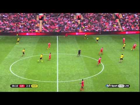 Liverpool 4-0 Borussia Dortmund pre season friendly 2014/08/10 720p