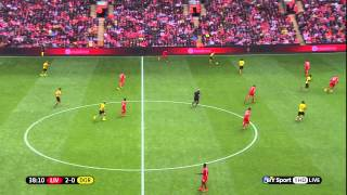 Liverpool 4-0 Borussia Dortmund pre season friendly 2014/08/10 720p