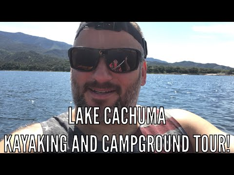 Lake Cachuma Kayaking And Campground Tour! RV Lyfer Livin It Up In The Santa Barbara Area!