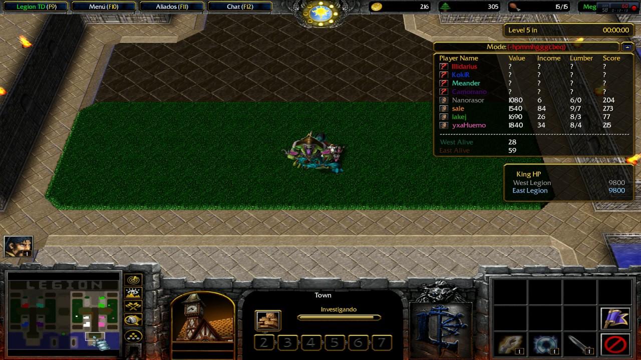 Warcraft 3 - Battle Net - Legion TD Mega 3 5 X10 v3 9f