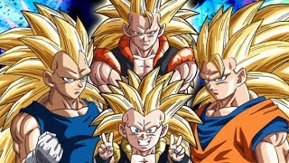 Team Super Saiyan 3 Vs. Badasses! (Dragon Ball Z Fights)