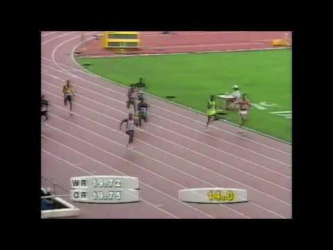 3933 Olympic Track & Field 1992 200m Men