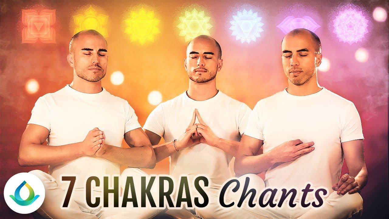 All 7 Chakras Healing Chants (Chakra Seed Mantra Meditation) ❂ - YouTube