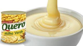 Bolo De Leite Condensado E Milho