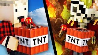 PRO VS NOOB - TNT WARS