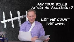 How to pay medical bills after an accident