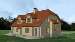 Sławek - projekt domu pracowni Horyzont