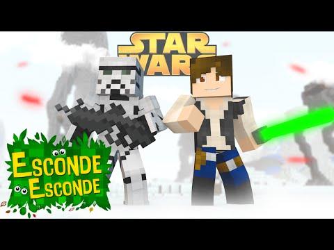 Minecraft: STAR WARS - O FILME! (Esconde-Esconde)
