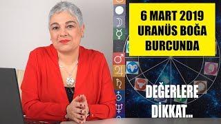 6 Mart'ta Uranüs'ün Boğa Burcuna Girişi
