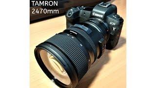 純Tamron 24-70mm F/2.8 G2 (A032)開箱 Ft.Canon EOS R