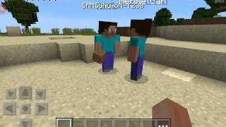 Minecraft pocket edition multiplayer ve hile.