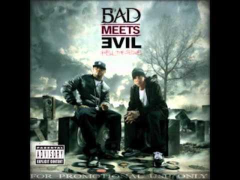 10-Royce Da 5′9″ Ft. Eminem - Living Proof (Bonus Track) album Bad meets evil 2011.wmv