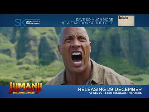 Jumanji Welcome To The Jungle Trailer