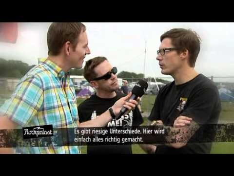 billy talent - interview (live  @ Area4 2010)