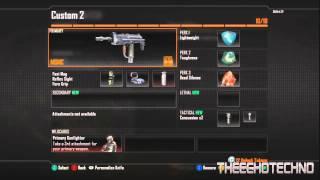 black ops 2 class setups 2 submachine gun class setup msmc