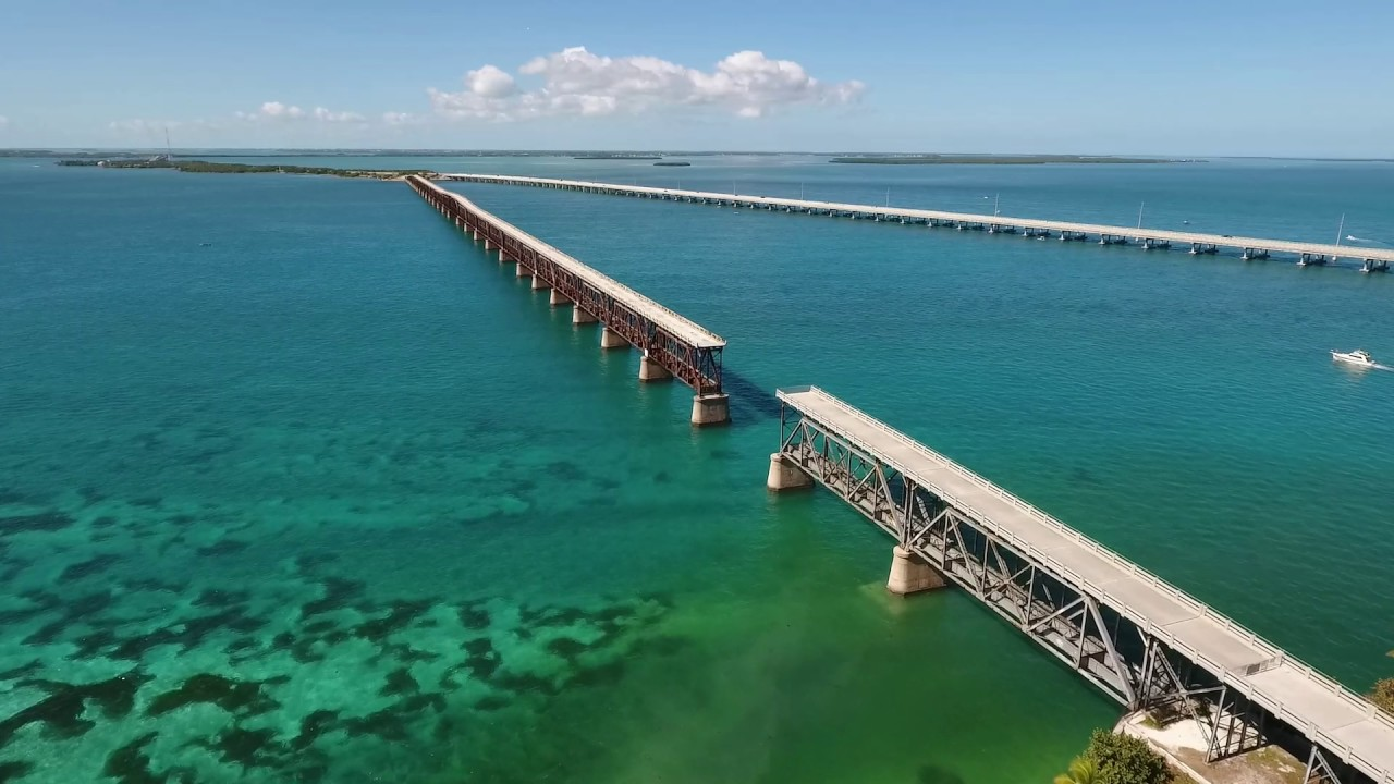 Bahia honda bridges big pine key florida 2017 aerial for Big pine key fishing lodge