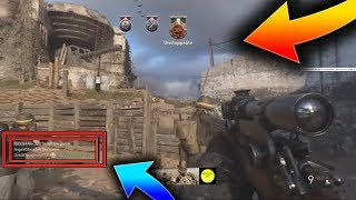 *OMG* THIS GLITCH LETS YOU KILL PEOPLE IN HEADQUARTERS ON CALL OF DUTY WW2! CALL OF DUTY WW2 GLITCH!