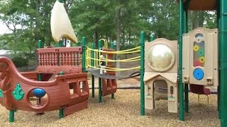 Outdoor Playground Fun for Children - Family Park with Slides,Agnessa family/2016