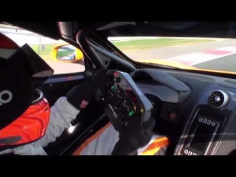 New 2015  McLaren 650S GT3 Chris Goodwin - On Board footage