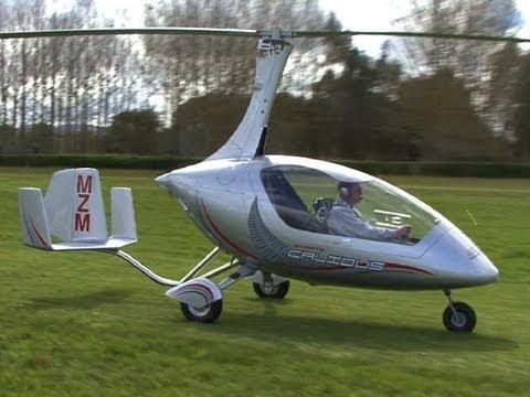 Calidus Gyrocopter with Tony Unwin - YouTube