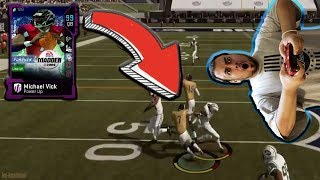 Michael Vick w/ the Most AMAZING Touchdown Run You'll Ever See - Madden 19 Ultimate Team