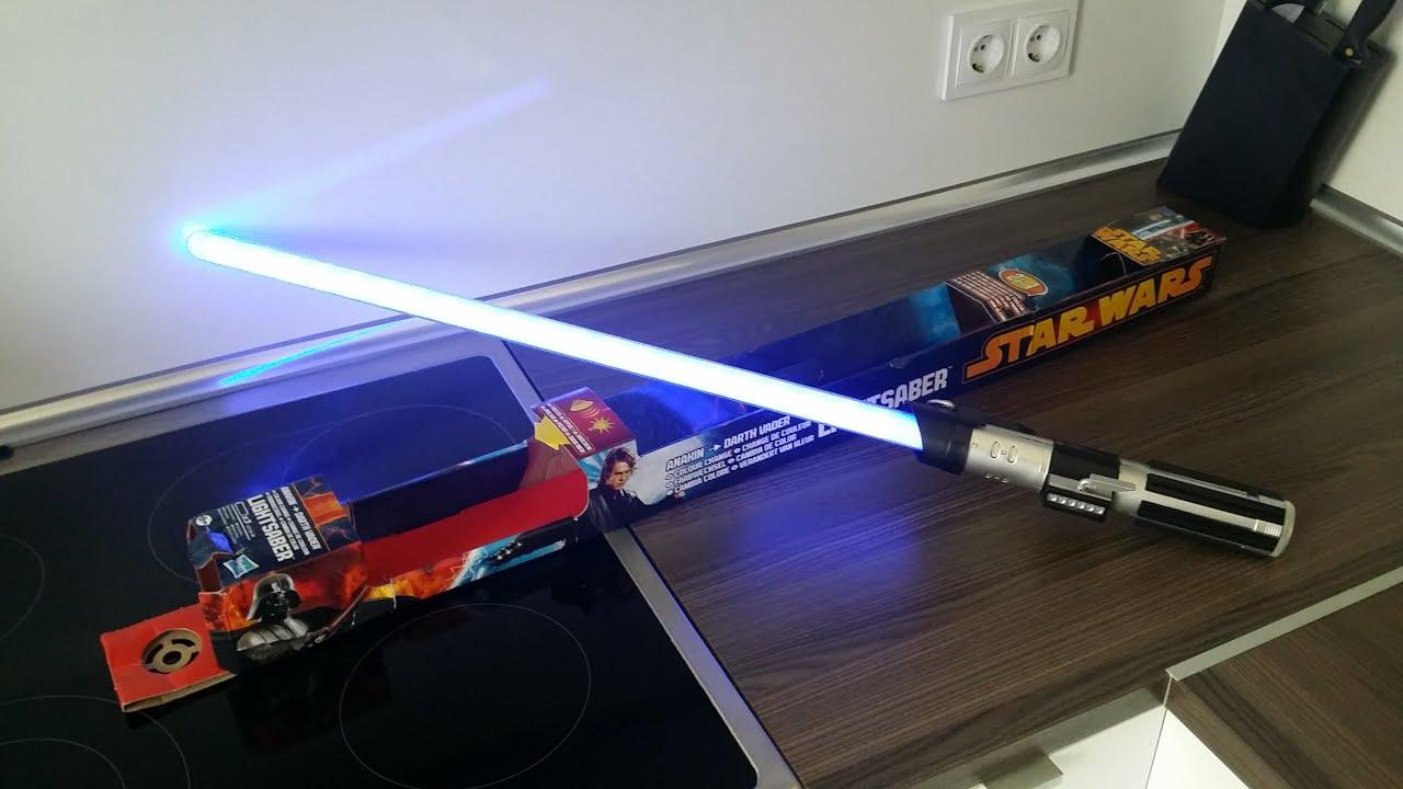 Darth Vectivus Lightsaber: Hasbro Anakin To Darth Vader Lightsaber
