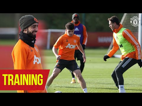 Training | The Reds prepare for Premier League action | Manchester United