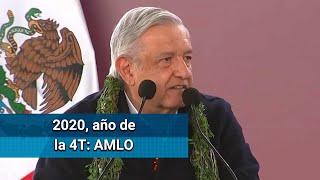 El primero de diciembre quedará consolidada la 4T: AMLO