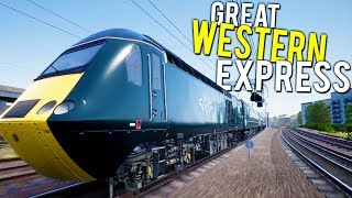 DRIVING THE FASTEST DIESEL TRAIN IN THE WORLD! - Train Sim World Great Western Express Gameplay