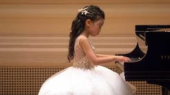 6 Years Old Serena Qu Perform at Isaac Stern Auditorium of Carnegie Hall