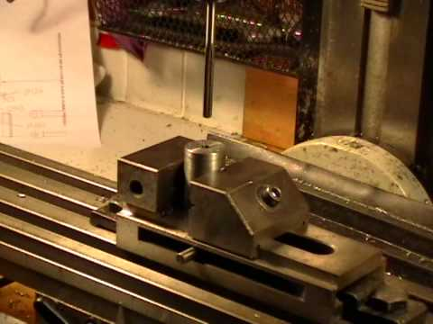 Two Cylinder Slide Valve Steam Engine Crankshaft: Video #1