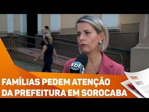 Famílias pedem atenção da prefeitura em Sorocaba - TV SOROCABA/SBT