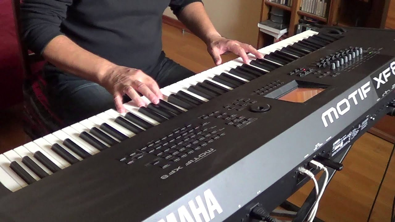 Download Stay With Me. Romantic piano music. Yamaha Motif XF8