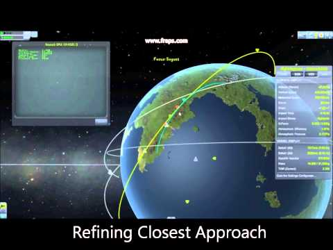 Kerbal Space Program - Automated Rendezvous and Docking with