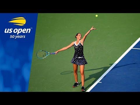 Karolina Pliskova Defeats Zarina Diyas in R1 of the 2018 US Open