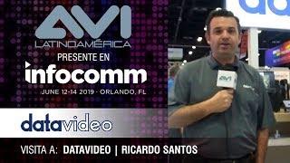 Visita a Datavideo durante  InfoComm Orlando 2019