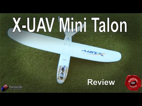 RC Reviews: X-UAV Mini Talon V Tail Plane