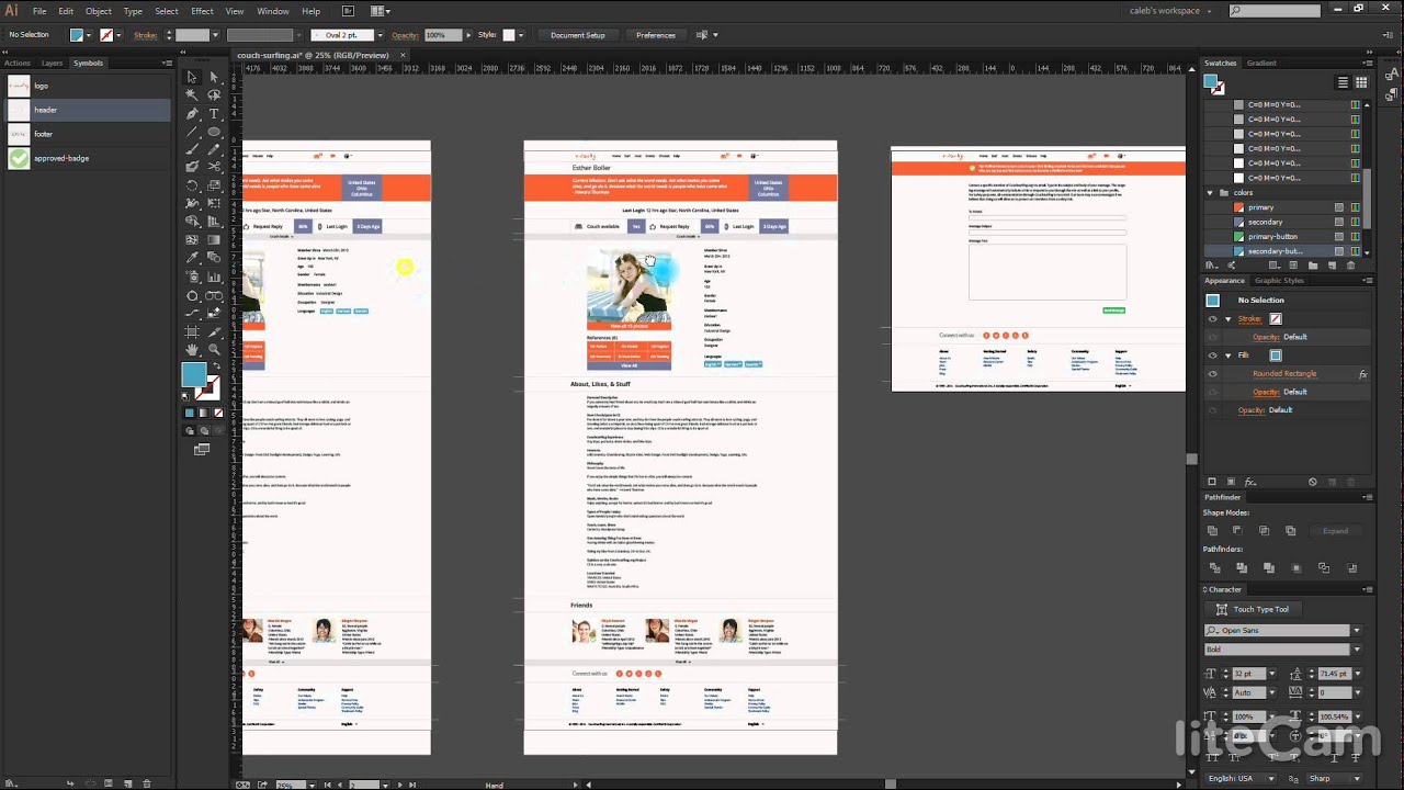 How to use Illustrator to create mockups - YouTube
