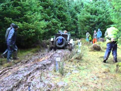 Tim Dutton Vintage Sports Car Club Lakeland Trial 2013