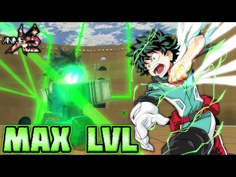 Roblox Anime Cross 2 Zenitsu Max Level Deku Is Over Powered In Anime Cross 2 Roblox